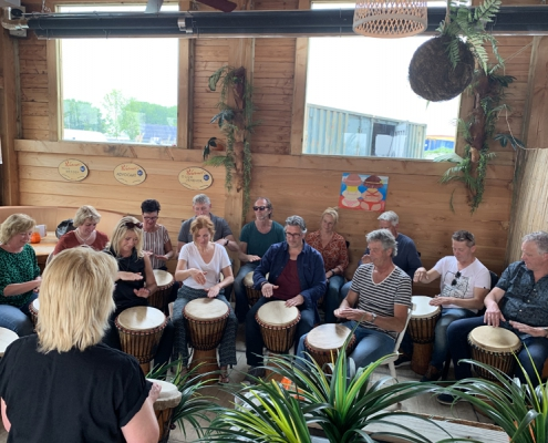 Djembe workshop in Hoorn