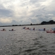 Kano varen in Hoorn